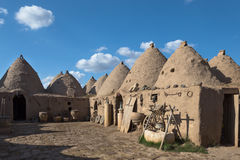 Beehive house at Harran, Turkey Stock Images