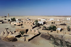 Panoramic view of Harran in Turkey Royalty Free Stock Photography