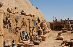 Beehive houses in village of Harran Royalty Free Stock Images