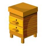 Beehive icon, cartoon style Stock Image