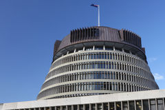 The Beehive, New Zealand Parliament Royalty Free Stock Photos