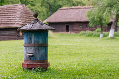 Beehive in the open-air museum. Ul wsi pogorzanskiej , open-air museum stock photography