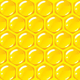 Beehive pattern vector Background Royalty Free Stock Photos
