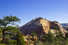 The Beehive. On a recent climb of Water Peak near Hildale, Utah, I took this shot of a nearby peak known as The Beehive Stock Photo