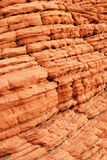 Beehive rock detail in the Valley of Fire. Detail of the Beehive rock in the Valley of Fire, a desert wonderland just north of Las Vegas, Nevada Royalty Free Stock Photos