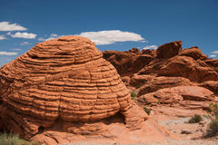 Beehive rocks in Valley of Fire State Park Stock Photos