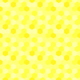 Beehive seamless pattern hexagons background Royalty Free Stock Photos