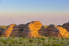 Beehive sunset, Purnululu National Park Stock Images