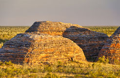 Beehive sunset, Purnululu National Park Royalty Free Stock Photos
