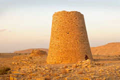 Beehive Tombs of Bat. The Beehive Tombs of Bat, in Oman, are among the most unique ensemble of 4000-5000 year-old burial monuments, towers, and remains of royalty free stock photography