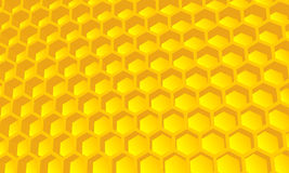 Beehive wallpaper, background royalty free illustration