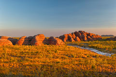 Beehives in Bungle Bungles National Park Royalty Free Stock Photo