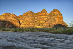 Beehives in Bungle Bungles National Park Stock Image