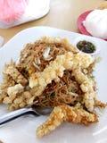 Beehoon frit de crevette de mante Photo stock