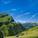 Beeindrucken der alpinen Landschaft Lizenzfreies Stockfoto