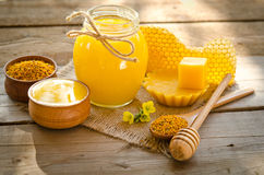 Beekeeper's still life Stock Photography