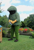 Beekeeper sculpture Royalty Free Stock Image