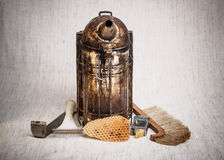 Beekeeping equipment Stock Images