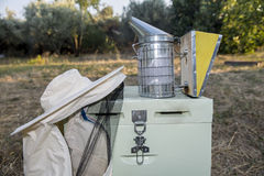 Beekeeping equipment Royalty Free Stock Image