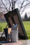Beekeeping wyposażenie obrazy royalty free