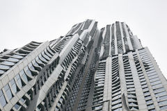 Beekman tower by frank gehry in manhattan new york city Stock Photo