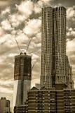 Beekman Tower in Manhattan Royalty Free Stock Photos