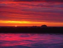 Beeld 9 van de zonsondergang royalty-vrije stock afbeelding
