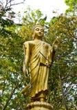 Beeld Boedha in het bos Stock Afbeelding