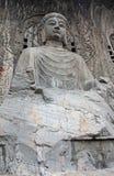 Beeld in China wordt genomen dat Het grootste standbeeld van Boedha in Longmen Gro royalty-vrije stock fotografie