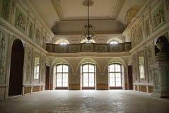 Beeld die binnenland van het paleis voorstellen stock foto's