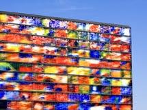 Beeld en geluid. Modern architecture in Hilversum in the Netherlands. Gebouw beeld en geluid Royalty Free Stock Photography