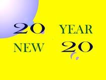 Beeld Gelukkig Nieuwjaar vector illustratie