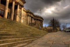 Beeld HDR van de Centrale Bibliotheek van Liverpool Royalty-vrije Stock Foto's