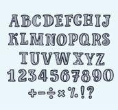 Beeld met de vectorillustratie van het alfabetthema vector illustratie