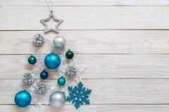 Beeld met een Kerstboom Stock Afbeelding