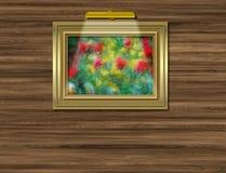 Beeld op muur royalty-vrije illustratie