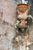 Beeld van antieke aardewerkamfora stock afbeeldingen