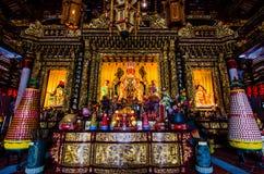 Beeld van Boedha, Chinese Tempel, a-Doctorandus in de letteren tempel royalty-vrije stock foto's