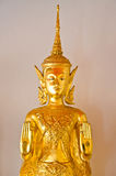Beeld van Boedha in de tempel van Thailand Stock Foto