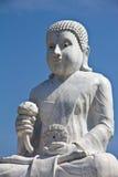 Beeld van Boedha in de tempel van Thailand Stock Afbeelding