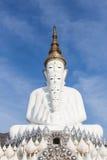 Beeld van Boedha op de bovenkant van berg Stock Afbeeldingen