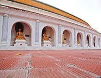 Beeld van Boedha in Thailand Stock Afbeelding