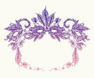 Beeld van Carnaval-masker Stock Afbeeldingen