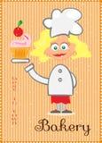 Beeld van chef-kok Royalty-vrije Stock Foto