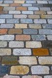 beeld van cobble-stone royalty-vrije stock afbeeldingen