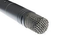 Beeld van correcte microfoon royalty-vrije stock fotografie