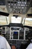 Beeld van de cockpit stock fotografie