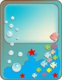 Beeld van de onderwaterwereld Stock Foto's