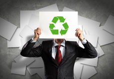 Bedrijfs ecologie Stock Afbeeldingen