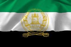 beeld van de vlagclose-up van Afghanistan Stock Afbeelding